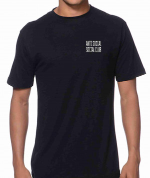 Anti Social Social Club T-Shirt free UK delivery