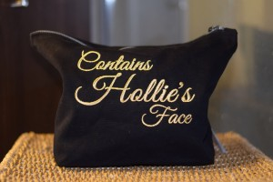Personalised Makeup/toiletries bag