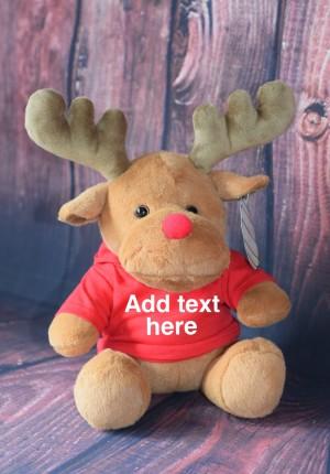 Mumbles Reindeer with personalised hoodie